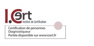 Certification Diagnostiqueur délivrée par I.Cert